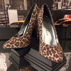 Ellie Cheetah print heels